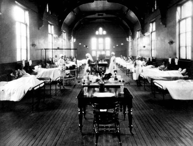 Before treatment with insulin, children dying from diabetes were often kept in wards with little hope